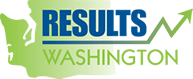 Results Washington logo